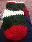 Drawstring Christmas Stocking