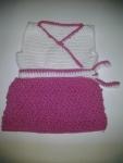 White, Pink w/ Belt