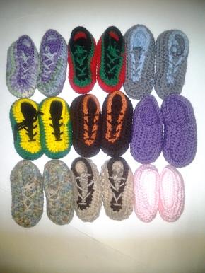 0-3months Booties_Sneakers