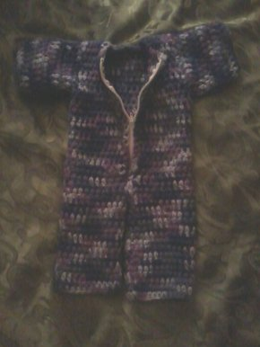 Blue & purple w/zipper