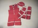 Hat, Jacket &Jumper: Hot Pink & White