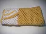 Blanket & Hat: Gold & White